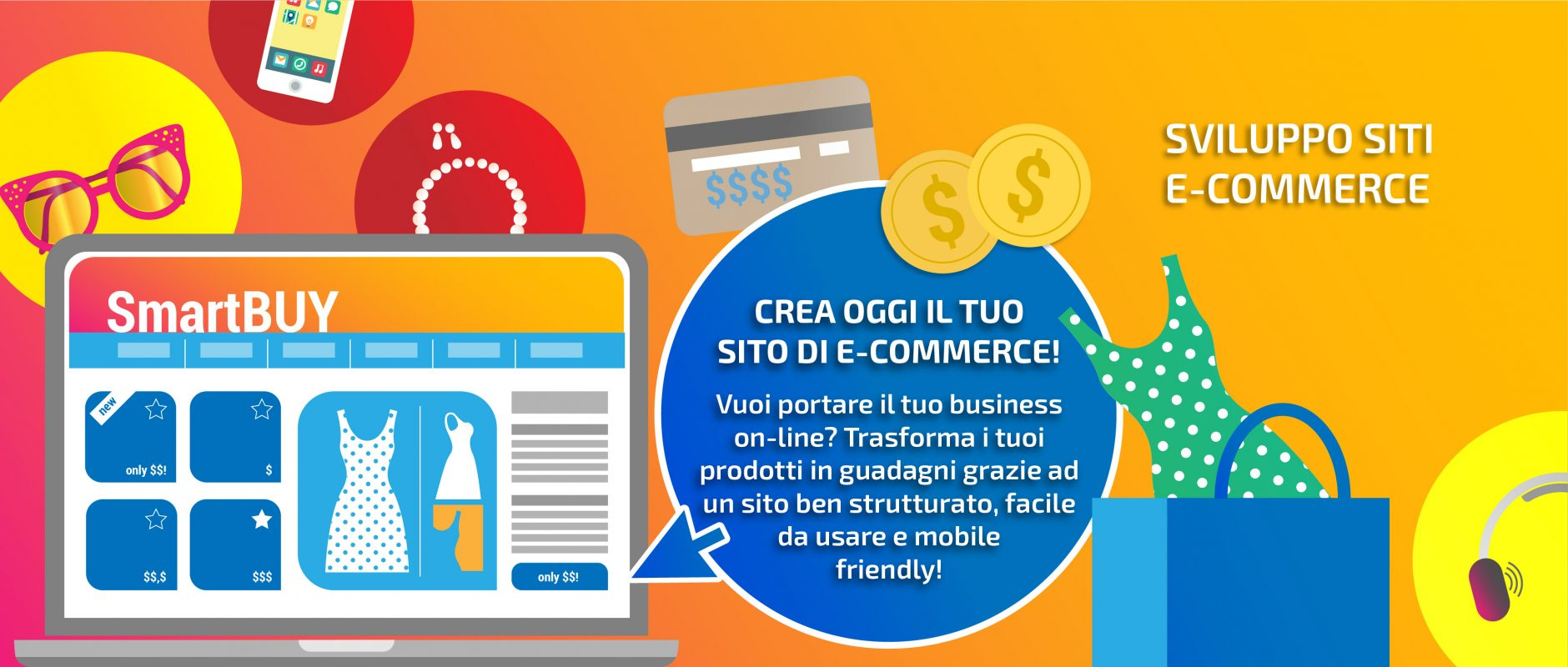 SVILUPPO SITI E-COMMERCE by TC-WEB
