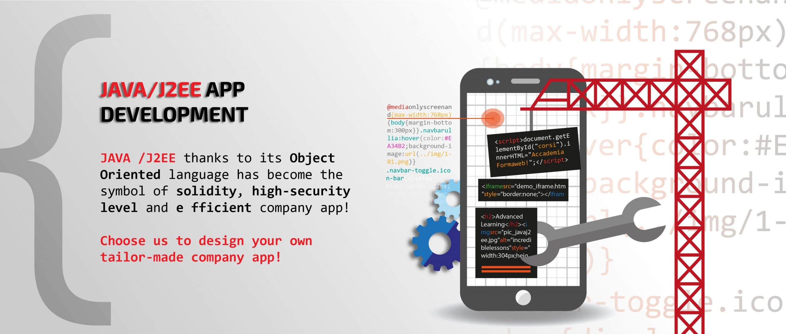 SLIDE LG - JAVA/J2EE APP DEVELOPMENT by TC-WEB